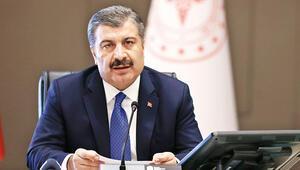Bakan Fahrettin Koca açıkladı: Her bin kişiden 2.5'i pozitif