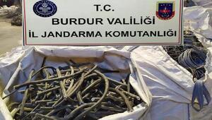 Krom ocağından kablo hırsızlığına 3 tutuklama