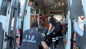 Kadıköyde kaza: 3 yaralı... Yakınları sinir krizi geçirdi