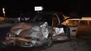 Tokat'ta feci kaza 4 yaralı