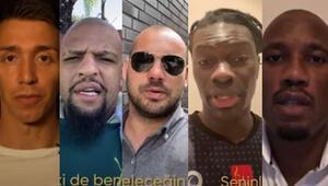 Galatasaraydan Selçuk İnana veda videosu Muslera, Drogba, Sneijder, Gomis...