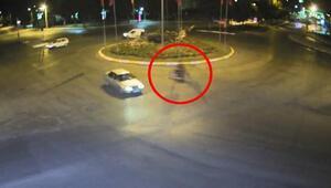 Polisten kaçıp trafiği birbirine kattı, kaza yapınca yakalandı