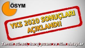 ÖSYM sınav sonuçları YKS sorgulama ekranı TYT AYT YKS 2020 Türkiye birincileri ve baraj puanı bilgileri