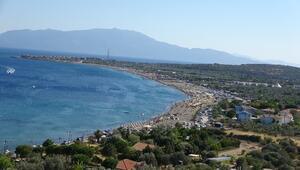 Kuzey Egenin tatil cenneti Asso sahillerinde bayramda yüzde 100 doluluk bekleniyor