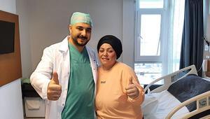 Obezite ve şekerden kurtulmak için Almanya'dan Samsun'a gitti