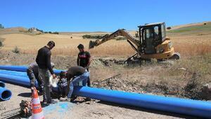 Başkan Bilgin, içme suyu çalışmalarını inceledi