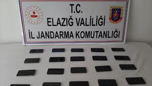 Elazığda kaçakçılık operasyonu: 2 gözaltı