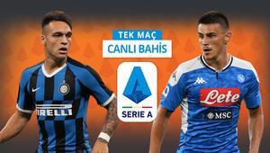 Napoli, Avrupa kupaları için bastırıyor Inter karşısında iddaada kazanmalarına...
