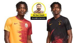 Galatasarayın yeni forması tartışma yarattı: Parçalı değil paramparça
