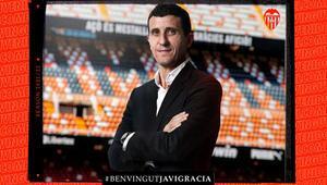 Valencianın yeni teknik direktörü Javi Gracia oldu