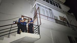 Antalyada acı olay Komşusunun ihbarı üzerine anlaşıldı