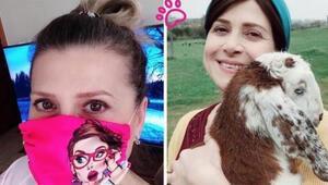 Çocuklar Duymasın'ın Emine'si Melek Şahinden sokak hayvanları yararına maskeler