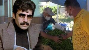 Yeşilçamın sert adamı Hikmet Taşdemir semt pazarında