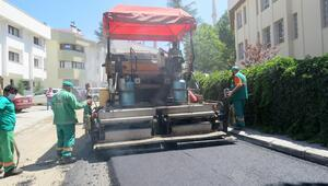 16 bin 261 ton asfalt serildi
