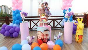 Şehit polisin kızı Asele, meslektaşlarından doğum günü sürprizi
