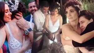 Songül Öden ile Arman Bıçakçının nikahına ünlü akını