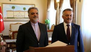 İranın Ankara büyükelçisi Antalyada