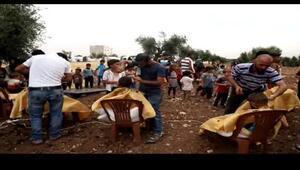 Suriyeli bin çocuğa bayram tıraşı