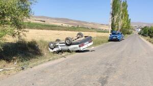 Gemerekte otomobiller çarpıştı, sürücüler yaralandı