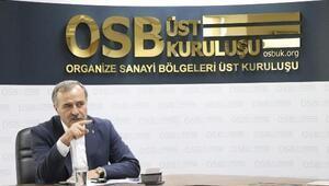 OSBÜK Başkanı Kütükcü, sanayi camiasının bayramını kutladı