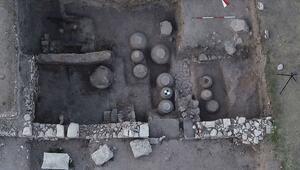 Amorium Antik Kentinde Bizans döneminden kalma tahıl ambarı bulundu