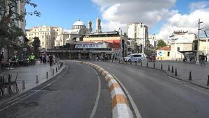 Taksim Meydanı sessizliğe büründü