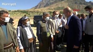 İçişleri Bakanı Süleyman Soylu, Kurban Bayramı nedeniyle Siirt Pervari Doğan Üs Bölgesini ziyaret etti