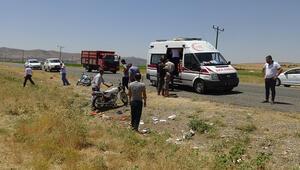 Motosiklet kazasında yaralanan Suriyeli, kurtarılamadı