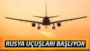 Rusya - Türkiye uçuşları ne zaman açılacak Rusya uçuş seferleri için beklenen tarih geldi