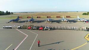 F-16'lar Azeri semalarında