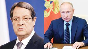 Anastasiadis, Putin'i arayıp yardım istemiş
