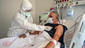 Koronavirüs hastası yoğun bakımdan seslendi