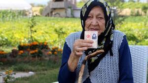 100 yaşındaki Rukkiye Nineden uzun yaşamın sırları