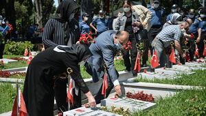 İstanbul Emniyet Müdürü Aktaş Polis Şehitliğini ziyaret etti