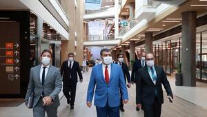 Bakan Kocadan Başakşehir Çam ve Sakura Şehir Hastanesine ziyaret