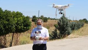 Kaymakam, kendisine ait drone ile trafik denetimine katıldı