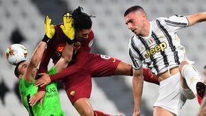 Juventusta Merih Demiral 201 gün sonra sahalara döndü