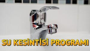 İstanbul'da su kesintisi – Sular ne zaman gelecek İZSU 3 Ağustos kesinti programı