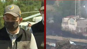 Son dakika haberler... Bakan Pakdemirliden İzmir ve Manisadaki yangınlarla ilgili açıklama