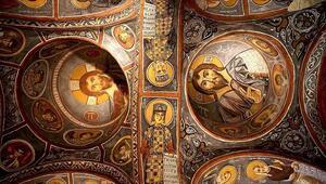 Karanlık Kilisenin freskleri ile bin yıl öncesine yolculuk