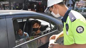 Kütahya'da poliste ekiplerinden çikolatalı denetim