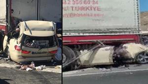 Son dakika... Ankara-Konya karayolunda feci kaza: 5 ölü