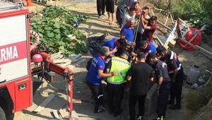 Su kuyusuna düşen kişi ile onu kurtarmaya çalışan 3 kişi öldü