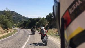 Motosiklet tutkunlarının alternatif tatil rotası