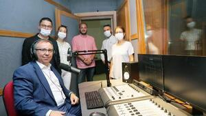 Trakya Üniversitesinde, 'Radyo Günebakan' test yayınına başladı