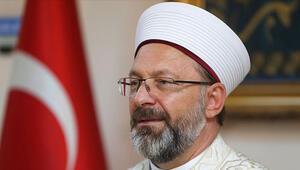 Diyanet İşleri Başkanı Ali Erbaştan Mevlid-i Nebi Haftası açıklaması