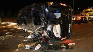Ankarada feci kaza 3ü ağır, 12 yaralı