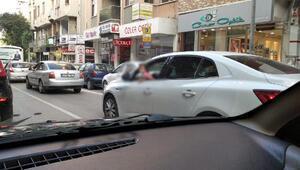 Trafikte tehlikeli harekete ceza