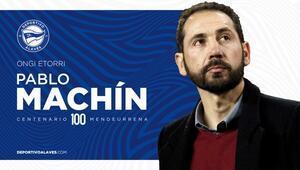 Alaves, teknik direktörlüğe Pablo Machini getirdi