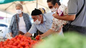 Bahçelerden köylü pazarına